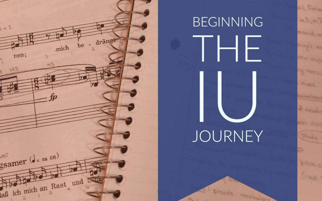 Beginning the IU Journey – 9.6.16